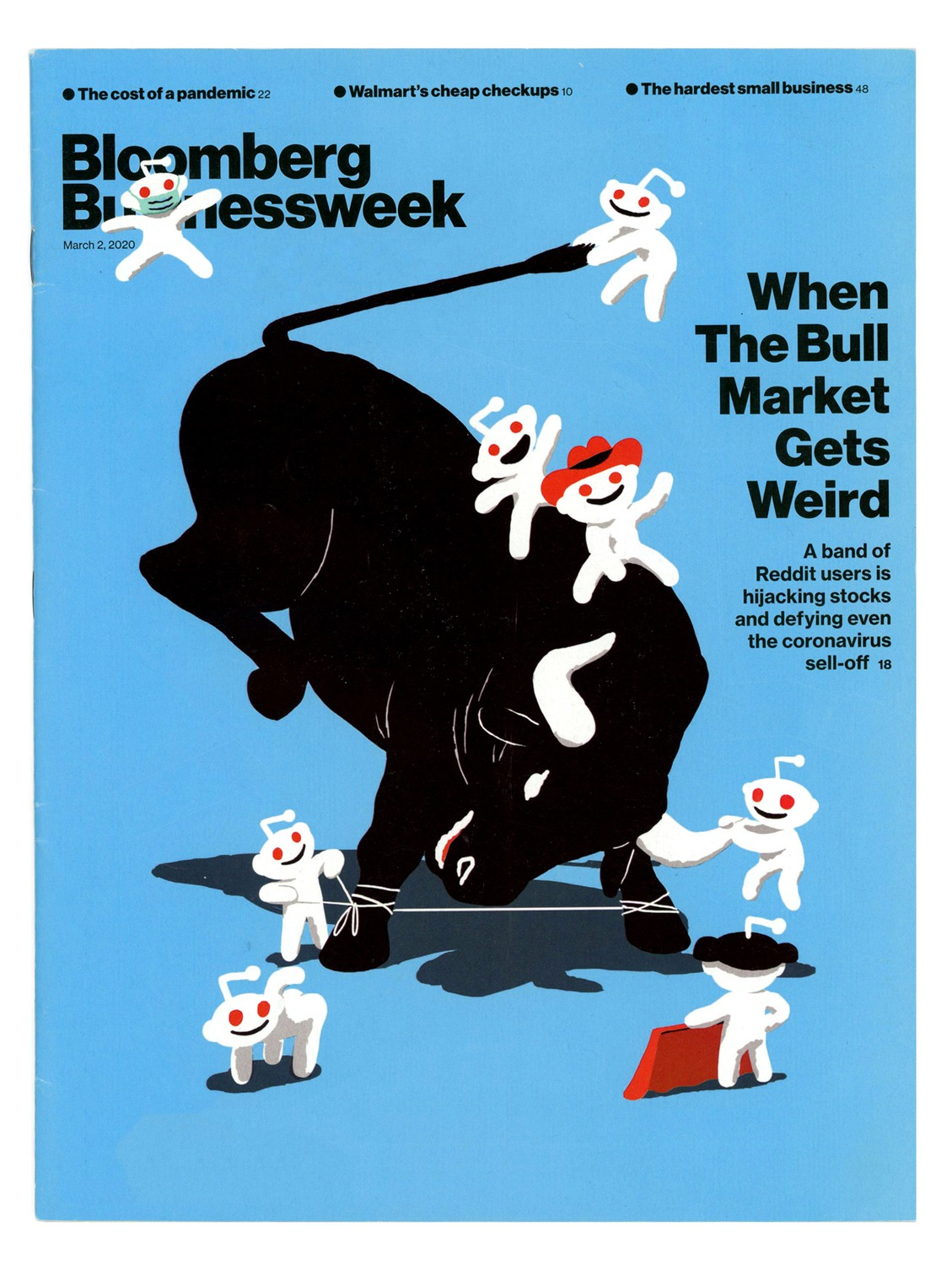 Cover for Bloomberg Businessweek